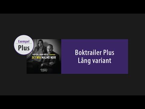 Boktrailer Black Edition - Plus [EXEMPEL]