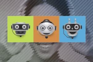 Digitala illustrationer för Tetra Pak i form av ikoner för en chattjänst